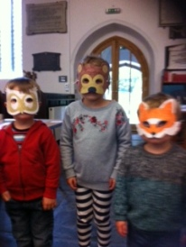 Hiding behind our animal masks ( Alfred Flora and Herbert)