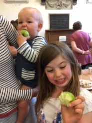 Apples help us learn about the Trinity